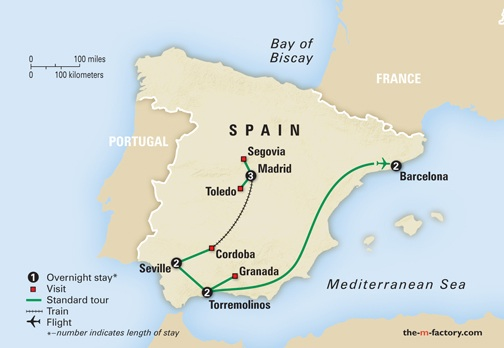 Journey to Spain Amazing Journeys