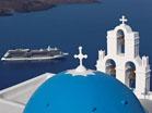 Celebrity Solstice in Santorini