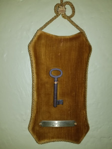 Czech jail key