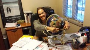 malori with globe