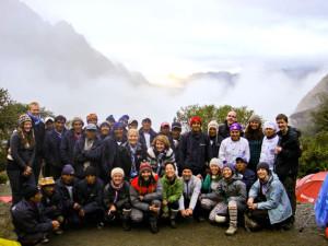inca trail peru group