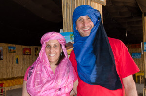 malori and barry in morocco